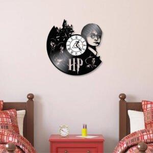 Relógio Harry Potter de vinil