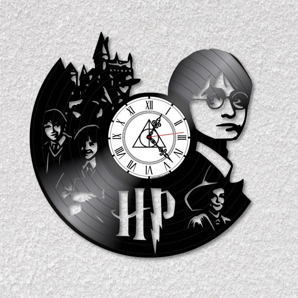 Relógio Harry Potter em vinil