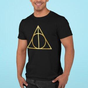 Camisa Harry Potter Relíquias da Morte