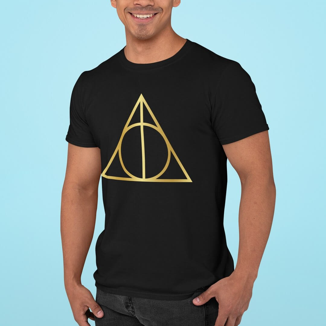 Camisa Harry Potter Relíquias da Morte