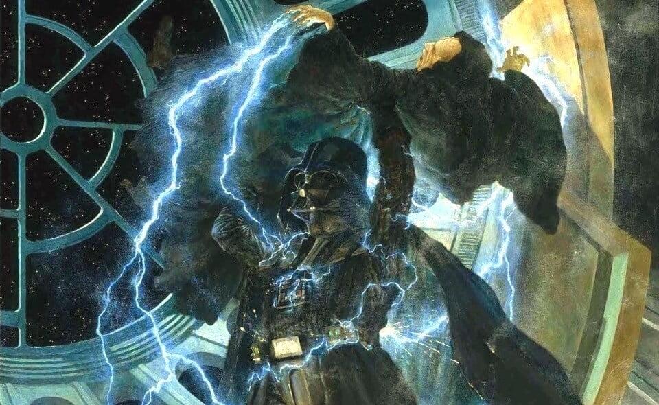 Darth Vader Mata o Imperador